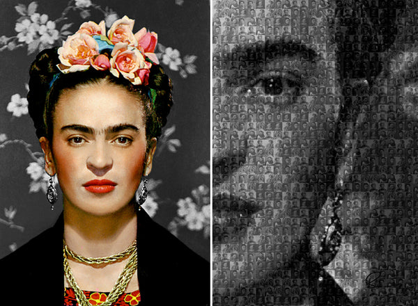 Bea Simpson - Frida Kahlo, 2016 Photography 77 x 100 cm - Gilardi Art Gallery