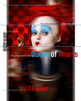 J.C. Kanter - Queen of Hearts, 2016 Photography 95 x 75 cm