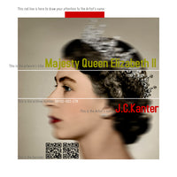 J.C. Kanter - Majesty Queen Elisabeth II, 2016 Photography 75 x 75 cm