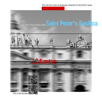 J.C. Kanter - Saint Peter's Basilica, 2016 Photography 75 x 75 cm