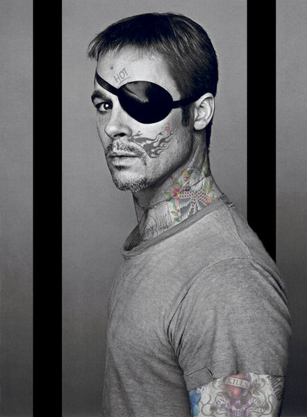 Tattoo Art M BP Brad Pitt I-MMXVI, 2016 Photography 95 x 70 cm