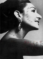 M Tattoo Art - MC Maria Callas 40th Annicersary, 2017 Photography 95 x 70 cm
