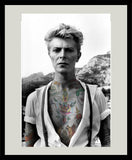 "M Tattoo Art - ""DB"" David Bowie, 2013 Photography 90 x 60 cm"