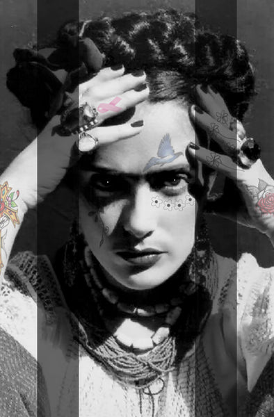 M  Tattoo Art - FK Frida Kahlo MMXVI, 2016 Photography 100 x 70 cm