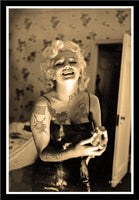M Tattoo Art - Marilyn Monroe MM - Vintage MMXVII, 2017 Photography 105 x 70 cm