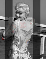 "M  Tattoo Art - ""MM"" Marilyn Monroe MMXVI XVIII, 2016 Photography 90 x 70 cm"