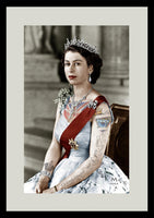 "M  Tattoo Art - ""HMQEII"" HM Queen Elisabeth II, 2011 Photography 80 x 50 cm"