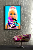 No-E' - Barbie #1, 2017 HD print on plexiglas 100 x 68