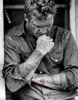 M Tattoo Art - SMcQ SteveMcQueen-XVI, 2017 Photography 90 x 70 cm