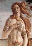 "M  Tattoo Art - ""SB"" Sandro Botticcelli The Birth Of Venus, 2011 Photography 100 x 70 cm"