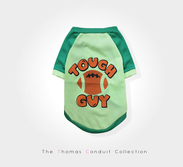 Tough guy sweater for dogs