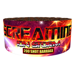 Screaming Ion Storm - 200 shot barrage