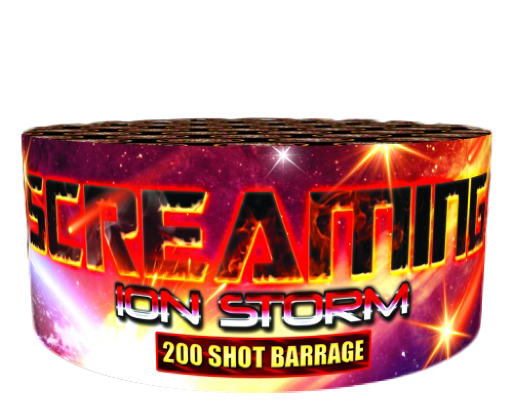 Screaming Ion Storm - 200 shot barrage - BUY 1 GET 1 FREE