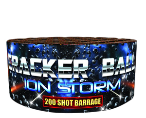 Crackerball Ion Storm  - 200 shot barrage