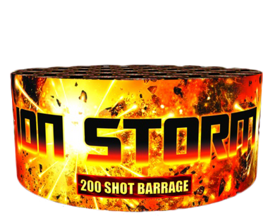 Ion Storm - 200 shot barrage