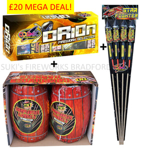 £20 MEGA FAMILY DEAL (IN STORE ONLY)