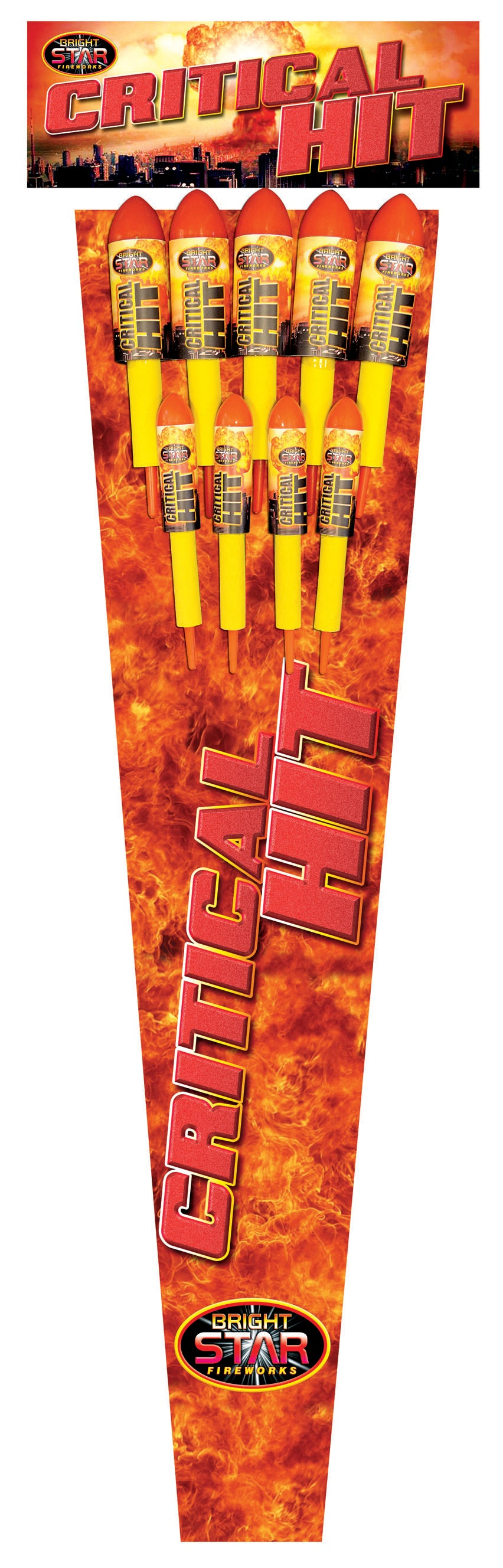 Critical Hit Rockets - Pack of 9 (IN STORE ONLY)