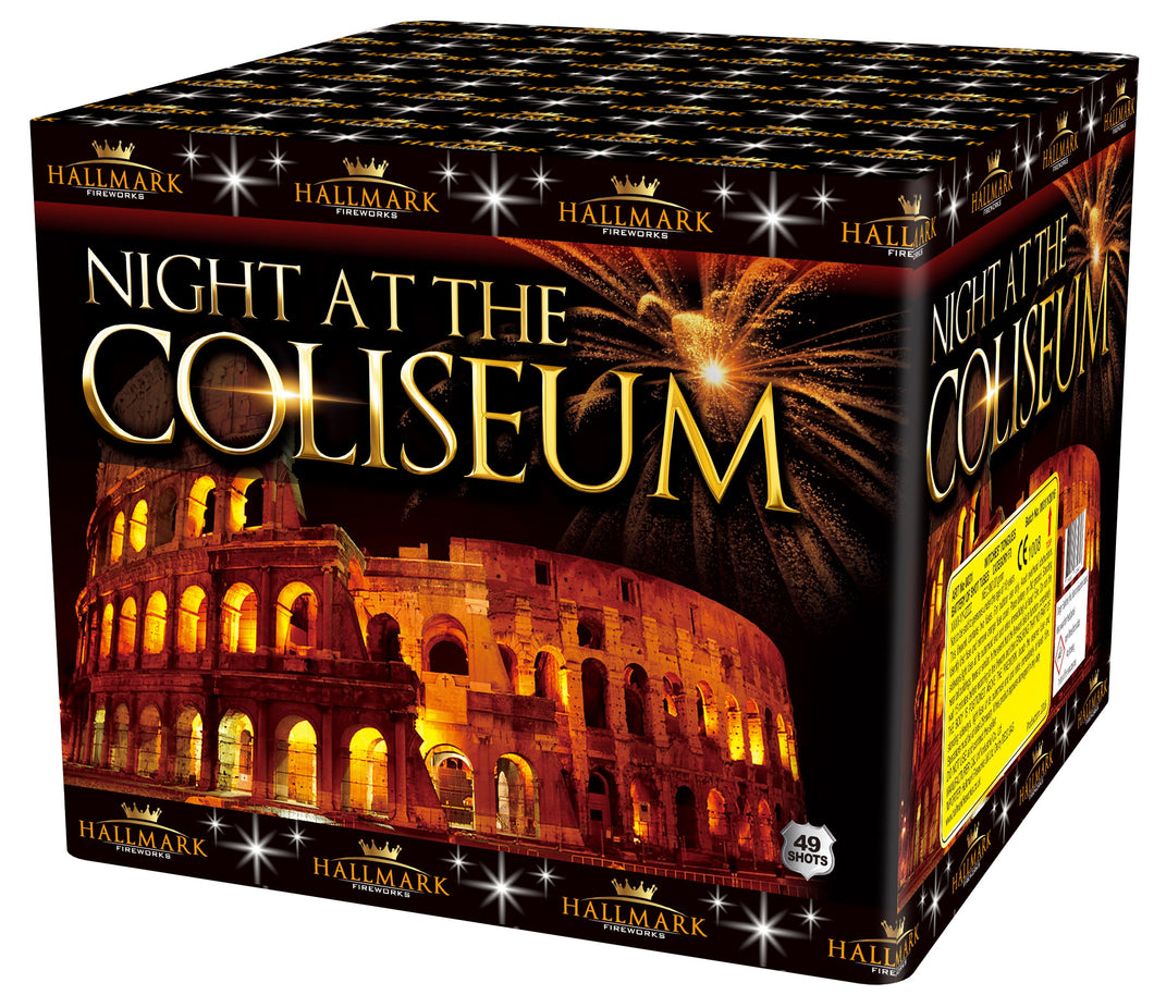 Night at the Coliseum - 49 shot 1.3G barrage - BUY 1 GET 1 FREE