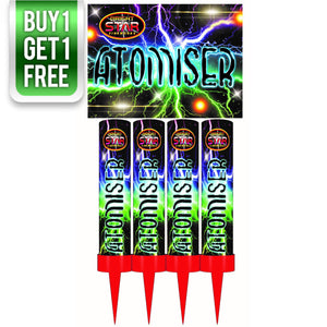 Atomiser Roman Candles (Pack of 4) - BUY 1 GET 1 FREE