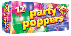 Party Poppers - BUY 1 GET 1 FREE