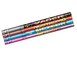 Low Noise Roman Candles 10 shots each (Pack of 4) - BUY 1 GET 1 FREE