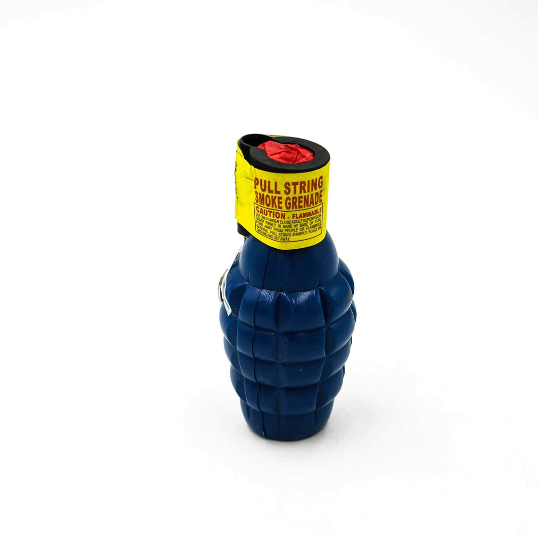 Sky Blue Smoke Bomb (Grenade shape) (60 seconds)