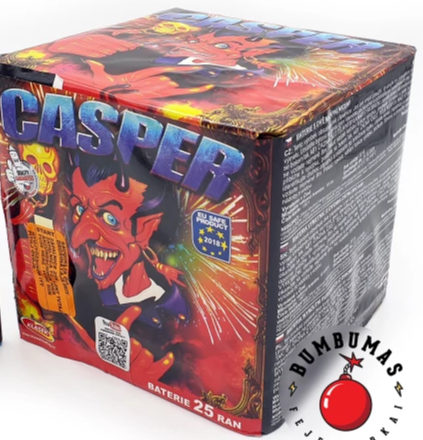 Casper - 25 shot barrage - BUY 1 GET 1 FREE