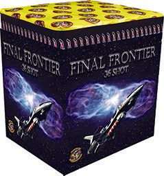 Final Frontier - 36 shot barrage