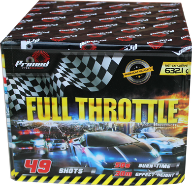 Full Throttle - 49 shot 1.3G LOUD barrage