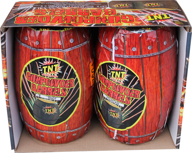 Gunpowder Barrels (Pack of 2) - BUY 1 GET 1 FREE