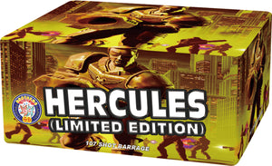 Hercules Limited Edition - 107 shot barrage