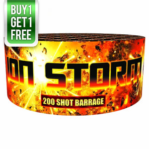 Ion Storm - 200 shot barrage - BUY 1 GET 1 FREE