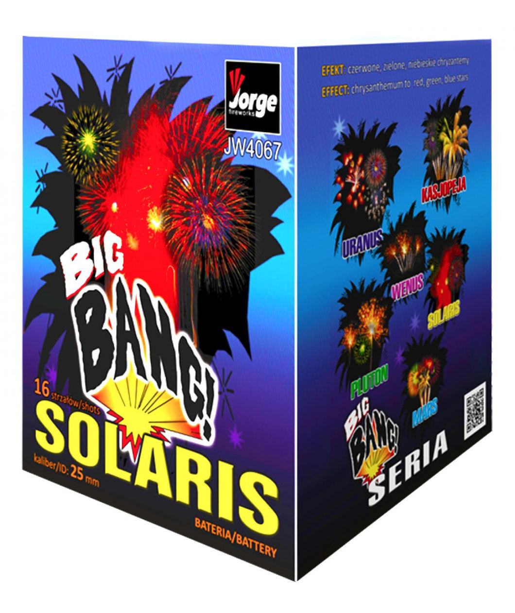 Big Bang Solaris - 16 shot barrage - BUY 1 GET 1 FREE