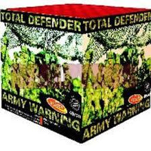 Total Defender - 49 shot display barrage