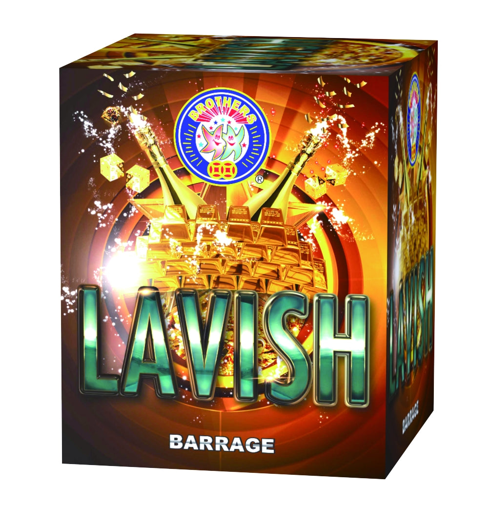 Lavish - 25 shot barrage
