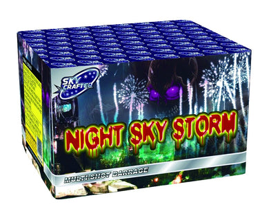 Night Sky Storm - 30 shot barrage