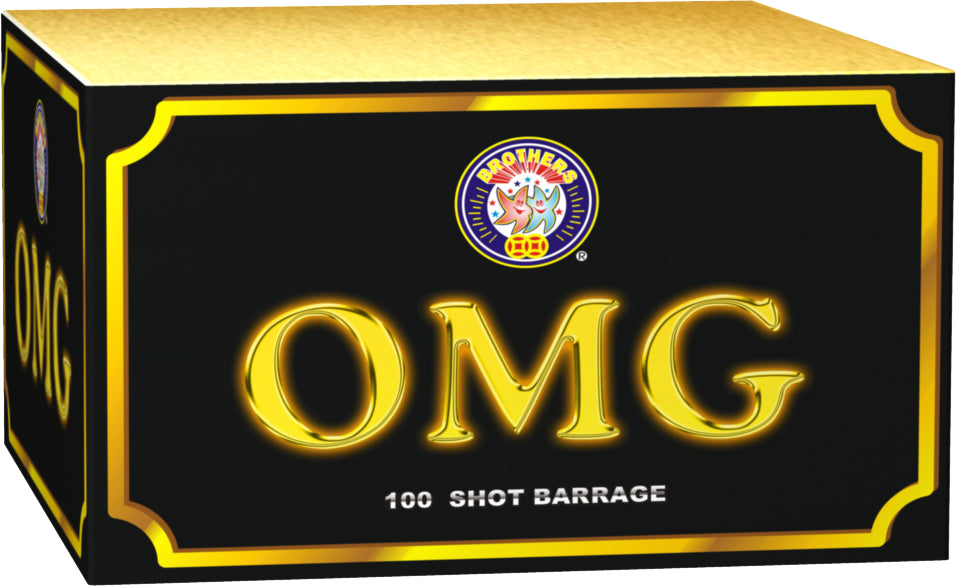 OMG - 100 shot display barrage