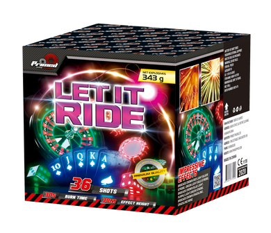 Let It Ride - 36 shot 1.3G LOUD barrage