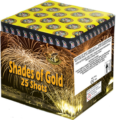 Shades of Gold - 25 shot barrage - BUY 1 GET 1 FREE