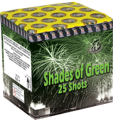 Shades of Green - 25 shot barrage - BUY 1 GET 1 FREE