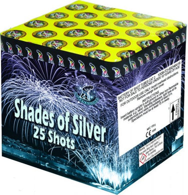 Shades of Silver - 25 shot barrage - BUY 1 GET 1 FREE