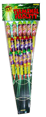 Terminal Velocity Rockets (Pack of 16)