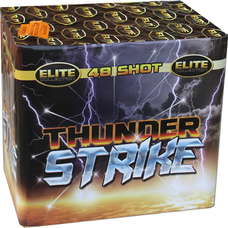 Buy Thunder Strike Online from Suki's Fireworks Bradford.
