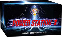 Powerstation 1 - 64 shot display finale barrage