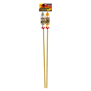 Manic Attack 1.3G Shell Rockets - Pack of 2 (IN STORE ONLY)