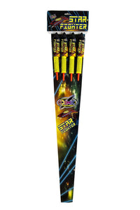 Star Fighter 1.3G Double Burst Rockets (Pack of 4) - BUY 1 GET 1 FREE