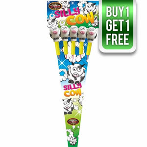 Silly Cows 1.3G Rockets (Pack of 5) - BUY 1 GET 1 FREE