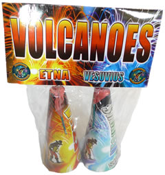 Volcanoes Conic Small Fountains (Pack of 2)