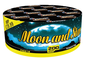 Moon and Stars - 200 shot barrage - BUY 1 GET 1 FREE