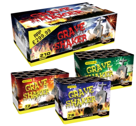 Grave Shaker Compound by Firework King Bradford Fireworks Leeds Fireworks For Sale Wakefield Fireworks For Sale Manchester Fireworks For Sale Chorlton Fireworks For Sale
